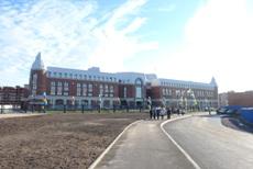 Новое здание школы на улице Кедринской